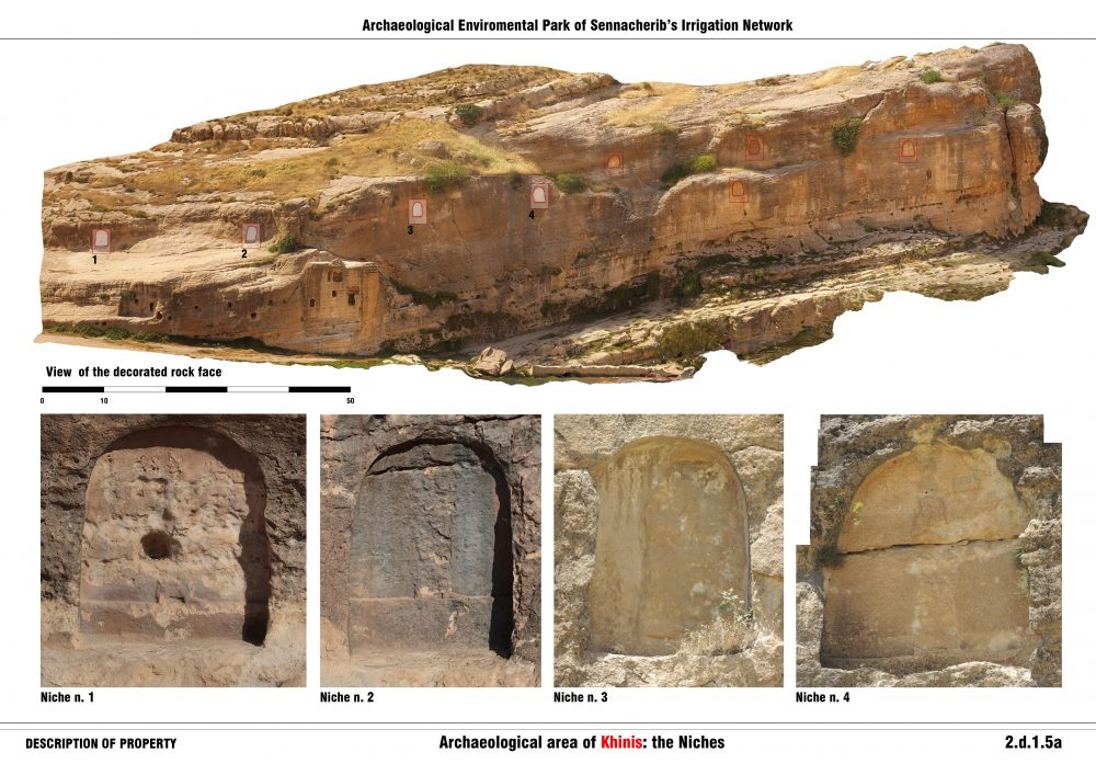 Archaeological area of Khinis: the Niches