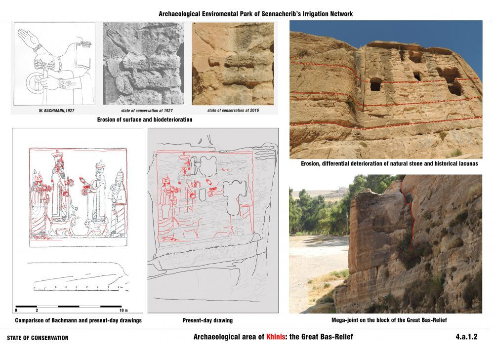 Archaeological area of Khinis: the Great Bas-Relief