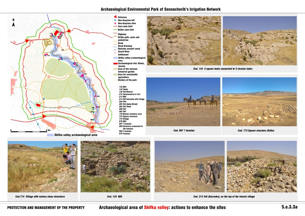 Archaeological area of Shifka valley: actions to enhance the sites