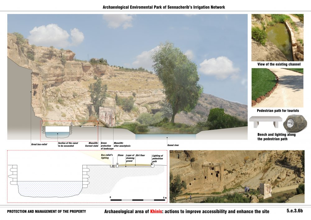 Archaeological area of Khinis:actions to improve accessibility and enhance the site