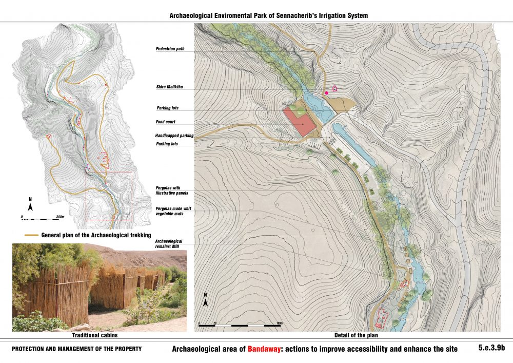 Archaeological area of Bandawai: actions to improve accessibility and enhance the site